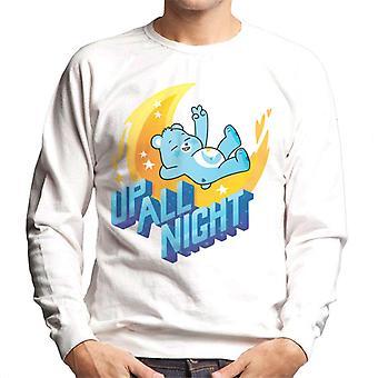 Care Bears Unlock The Magic Up All Night Men's Sweatshirt
