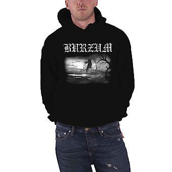 Burzum Hoodie Aske 2013 Band Logo new Official Mens Black Pullover