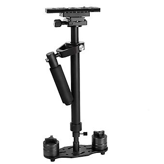 YELANGU S60N Aluminum  Handheld Stabilizer for Camcorder DV Video Camera DSLR(Black)