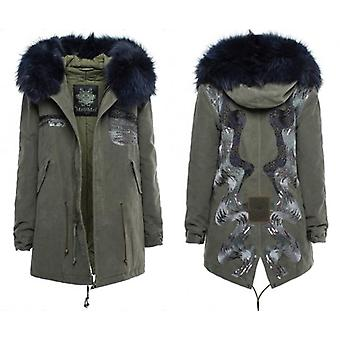 Military Green Jacket Mr. Italy Women's
