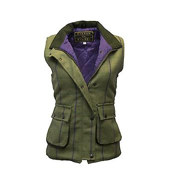 Walker and Hawkes - Ladies Tweed Shooting Gilet