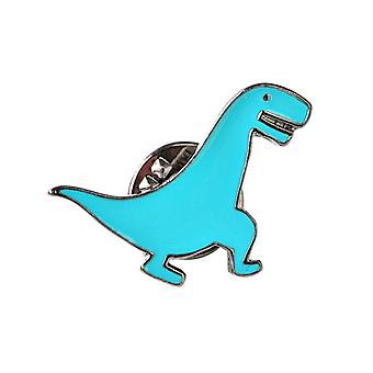 5pcs Cartoon Dinosaur Broche Dinosaur Legering Pins Sæt Cute Emalje Pins C1075-4