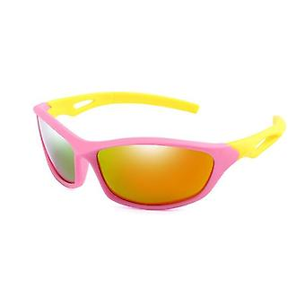 Nye polariserede solbriller Cool Sports Goggles Silikone Sikkerhed solbriller