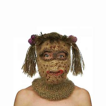 Hand Knitted Freak Show Mask for Holidays Gift Idea