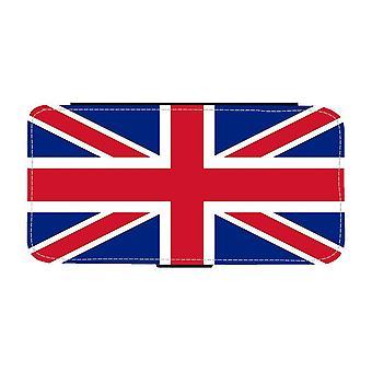 La custodia del portafoglio Union Jack Flag iPhone 12 / iPhone 12 Pro