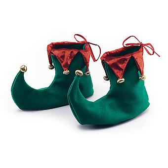 Bristol Novelty Unisex Adults Christmas Elf Shoes