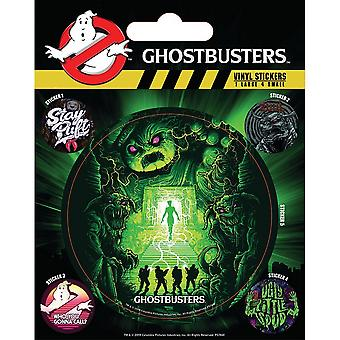 Ghostbusters Ghosts and Ghouls Vinyl Stickers (Pack of 5)