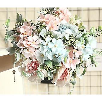 Artificial Silk Bouquet Flower