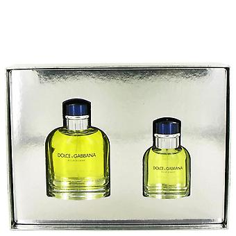 Dolce & Gabbana Gift Set By Dolce & Gabbana 4.2 oz Eau De Toilette Spray + 1.3 oz Eau De Toilette Spray