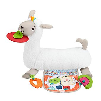Fisher-price grow with me tummy time llama