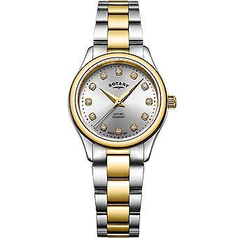 Ladies Watch Rotary LB05093/44/D, Quartz, 28mm, 5ATM