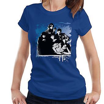 The Breakfast Club Tecken Tillsammans Pensel Kvinnor & apos; s T-Shirt