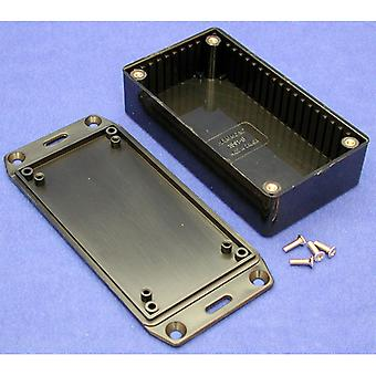 Hammond 1591BFLBK Multipurpose FRABS Enclosure Flanged Lid 112 x 62 x 31 Black