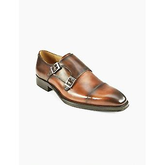 Lombary Tan Monk Shoe