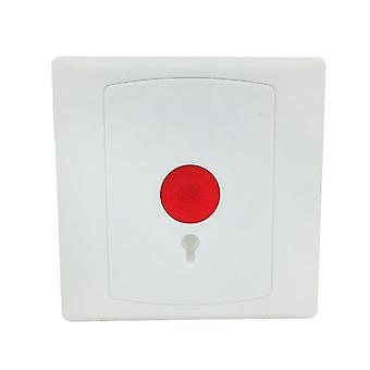 Auto reset, nc/no botón de pánico para retardante de incendios del sistema de alarma, emergencia de shell