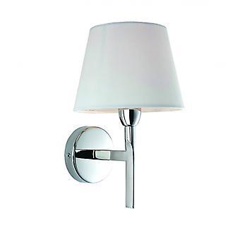 Lámpara De Pared De Transición, Acero Inoxidable, Con Pantalla
