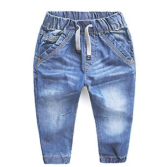 Girls Jeans Blue Denim Trousers Casual Pant