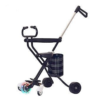 Baby Stroller Walking Artifact, High, Landscape, Light Folding, Toddler Bikes,