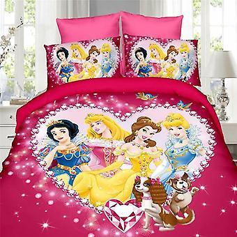 Disney Cinderella Princess Kids Bedding Set