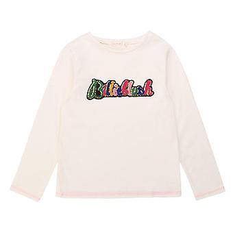Billieblush girls cream long sleeve top u15795/121