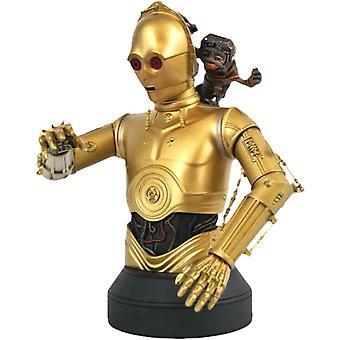 Star Wars C-3PO & Babu Frik 1:6 Scale Bust