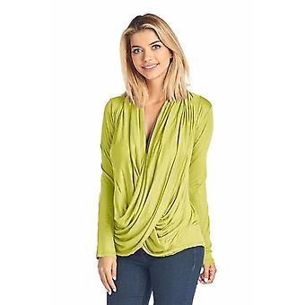 Women's Long Sleeve Criss Cross Cardigan Small To 3xl Athleisure Made