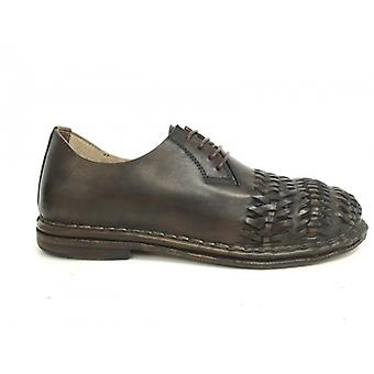 Мужская обувь Головокружение Ручная работа 3 Плетения Кожа Moro Нижняя кожа Us16dz02