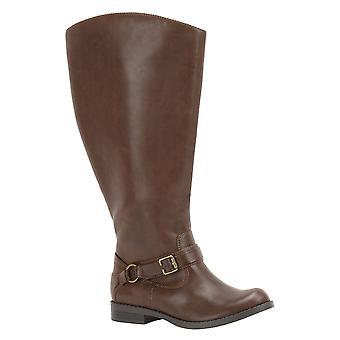 Easy Street Womens Quinn Closed Toe Knee High Riding Boots
