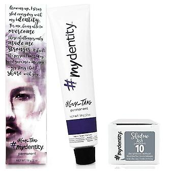 #mydentity Permanent Hair Colour - Shadow Ash 10