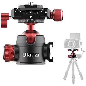 Mini Ball head, Tripod Ball Head 360with 1/4 Arca-Swiss Quick Shoe Plate and Acra Swiss for DSLR