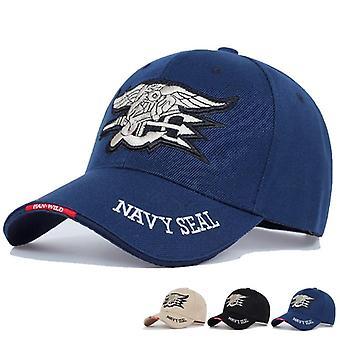 Mens Us Navy Baseball Cap - Tactical Army Trucker Gorras Snapback Hat