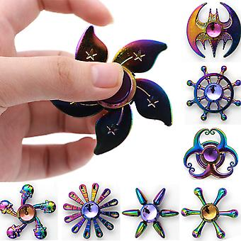 3 PCS Stress Relief With Fingertip Spinner Toys Random Style