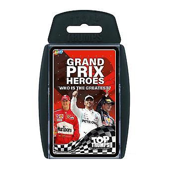 Grand Prix Heroes Top Trumps Card Game