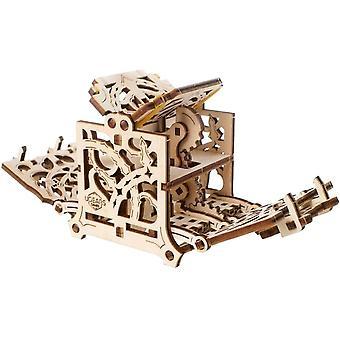 FengChun 3D Modellbausatz Brettspiele Wrfelbox - Würfelhüter - Holzkiste Aufbewahrungsbox fr Wrfel