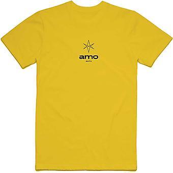Bring Me The Horizon - Hexagram Amo Small Men's XX-Large T-Shirt - Yellow