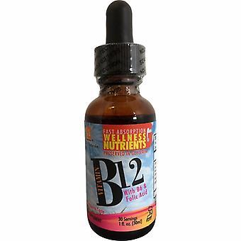 L. A .Naturals Vitamin B12 with Folic Acid & B6, 1 Oz