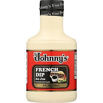 Johnnys Fine Foods Au Jus Frnch Dip, sag af 6 X 8 Oz