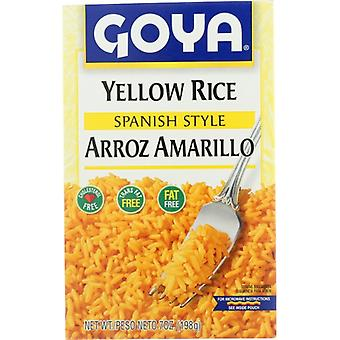 Goya Rice Mix Gul, sag af 12 X 7 Oz