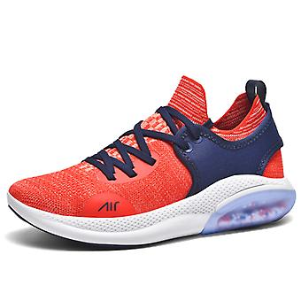 Summer breathable and shock-absorbing jogging shoes 1EM2021 Red