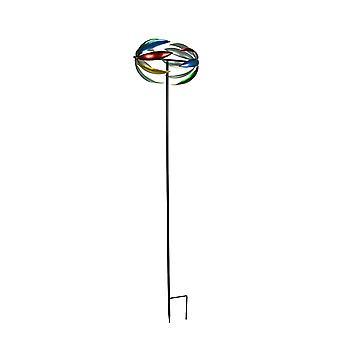 64 بوصة معدنية الحركية الرياح سبينر حديقة حصة الحديقة ديكور يارد الفن النحت