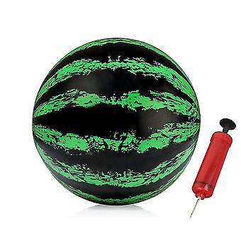 8 inch watermeloen bal met pomp, de ultieme zwembad spel, pool bal voor onder water