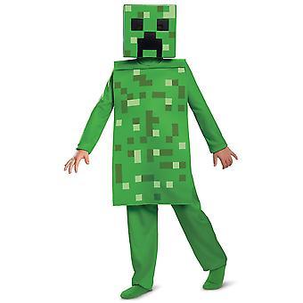 Creeper Jumpsuit Classic Mojan Minecraft Hostile Mobs Video Game Boys Costume
