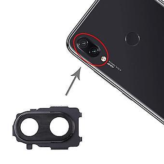 מסגרת מצלמה בחזרה עבור Xiaomi Redmi הערה 7 Pro / Redmi הערה 7 (שחור)