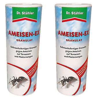 Sparset: 2 x DR. STÄHLER Myrer-Ex granulater, 100 g
