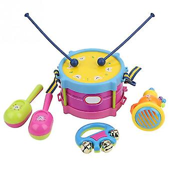 Kinder Drum Trompete Spielzeug Musik Percussion Instrument Band Kit Frühes Lernen