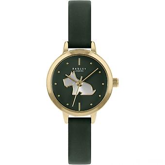 Radley Mto - Ss21 Promo Ry21256a Black Dial Leather Strap Ladies Watch