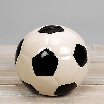 Widdop & Co. Harvey Makin Ceramic Football Money Box Bank Hm1965