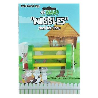 AE Cage Company Wooden Barrel Puzzle Chew Toy - 1 count