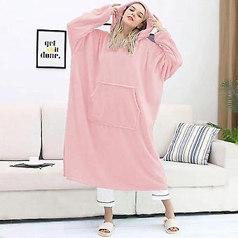 Yesfit New Style Flannel Coral Velvet Thick Warm Pajamas Autumn And Winter Hooded