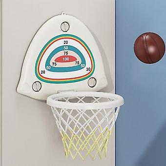 Indoor mini muur gemonteerd bal net kinderen spelen voor kinderen basketbal spel| Basketbal